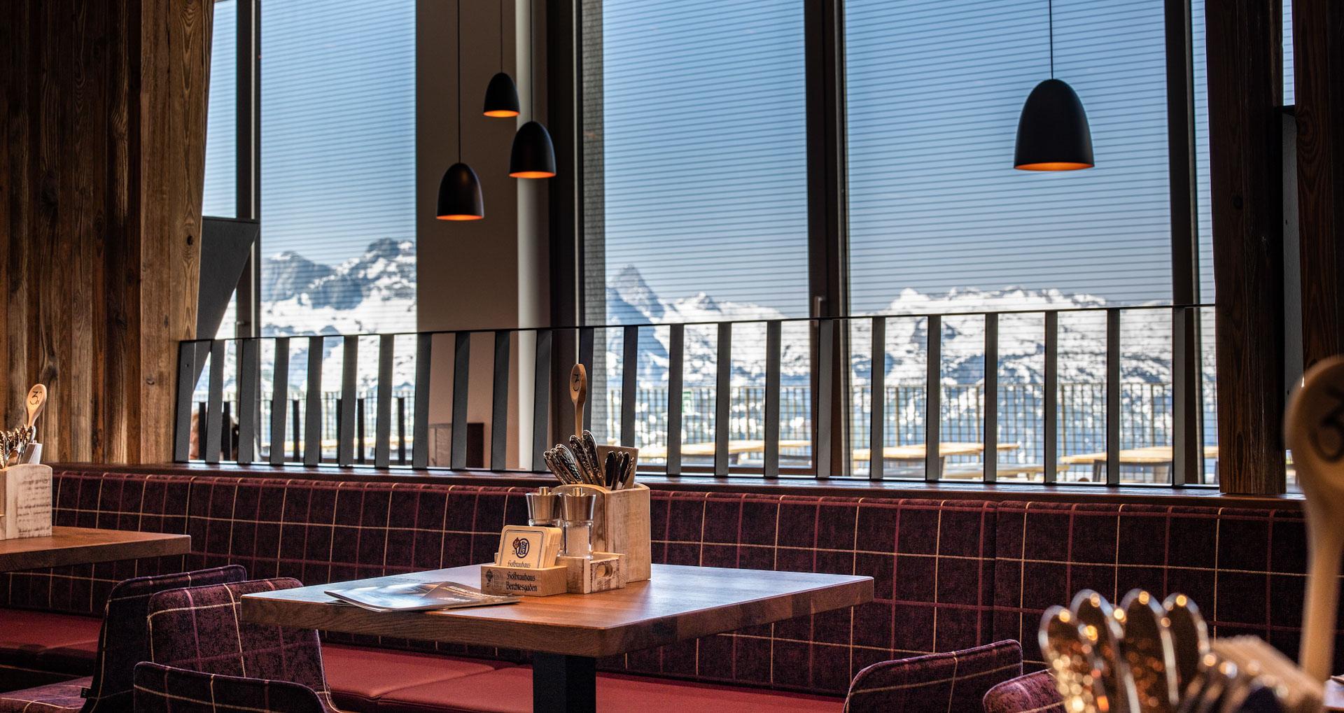 Jenneralm genießen mit aussicht Berchtesgadener -nationalpark