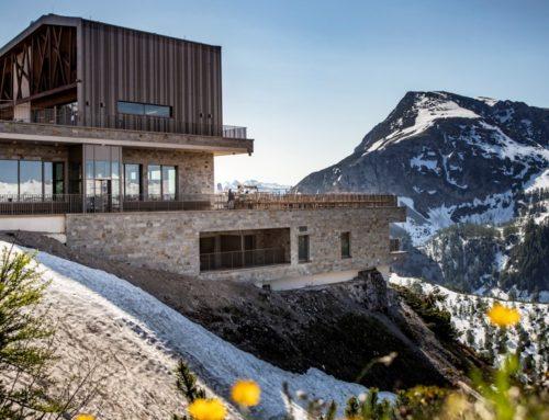 Die neue Bergstation Jennerbahn
