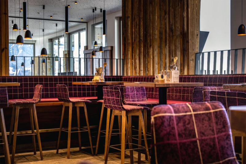 Jenneralm Restaurant Innen
