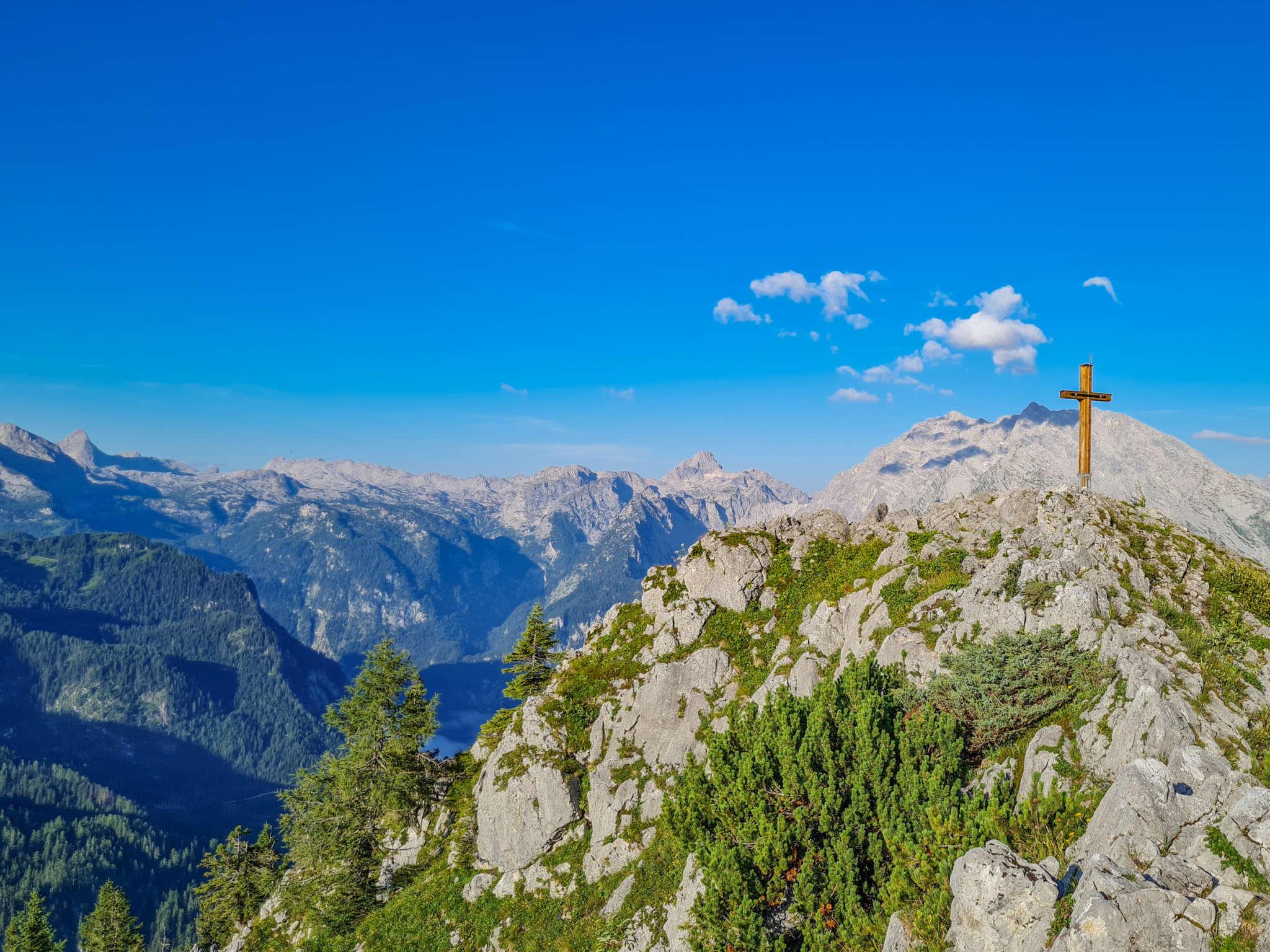 Königsblick Gipfelkreuz